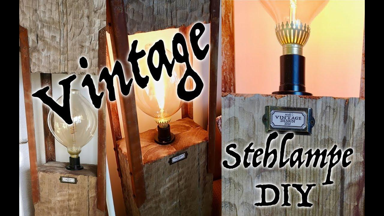 Stehlampe Retro Vintage