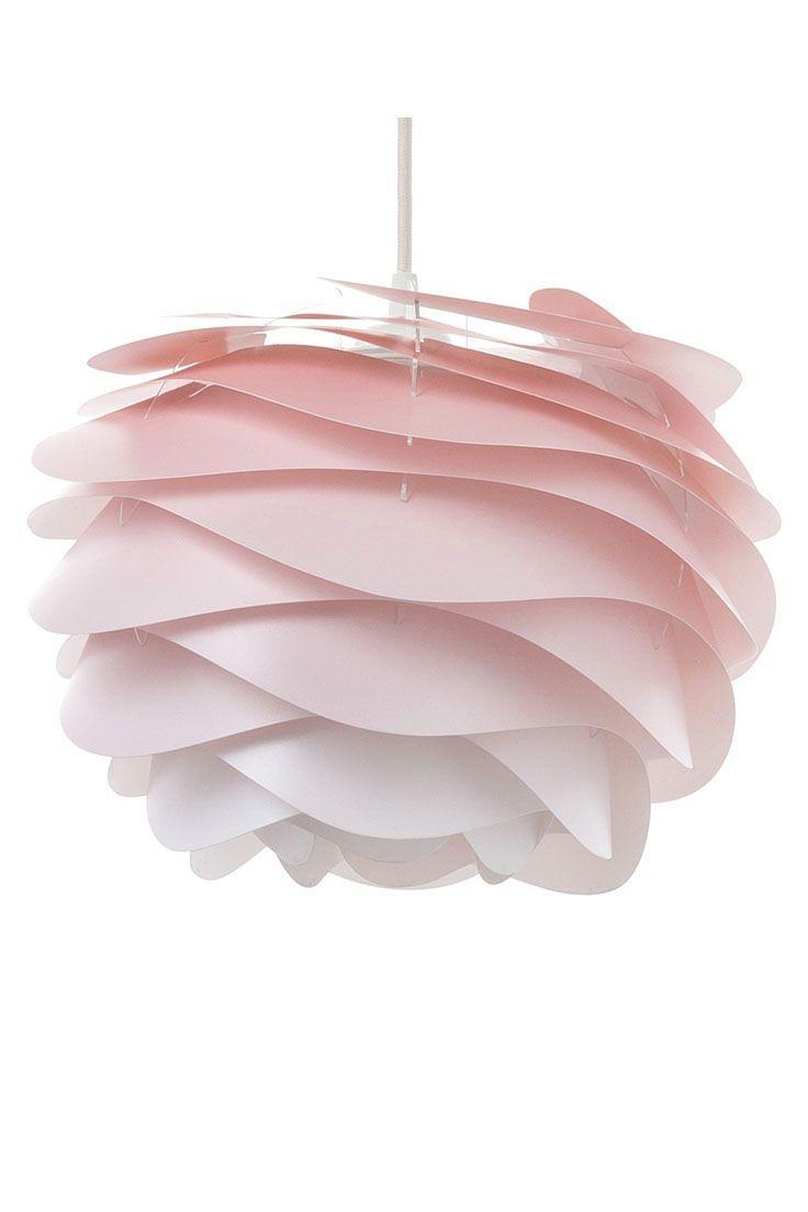Stehlampe Rosa Glas
