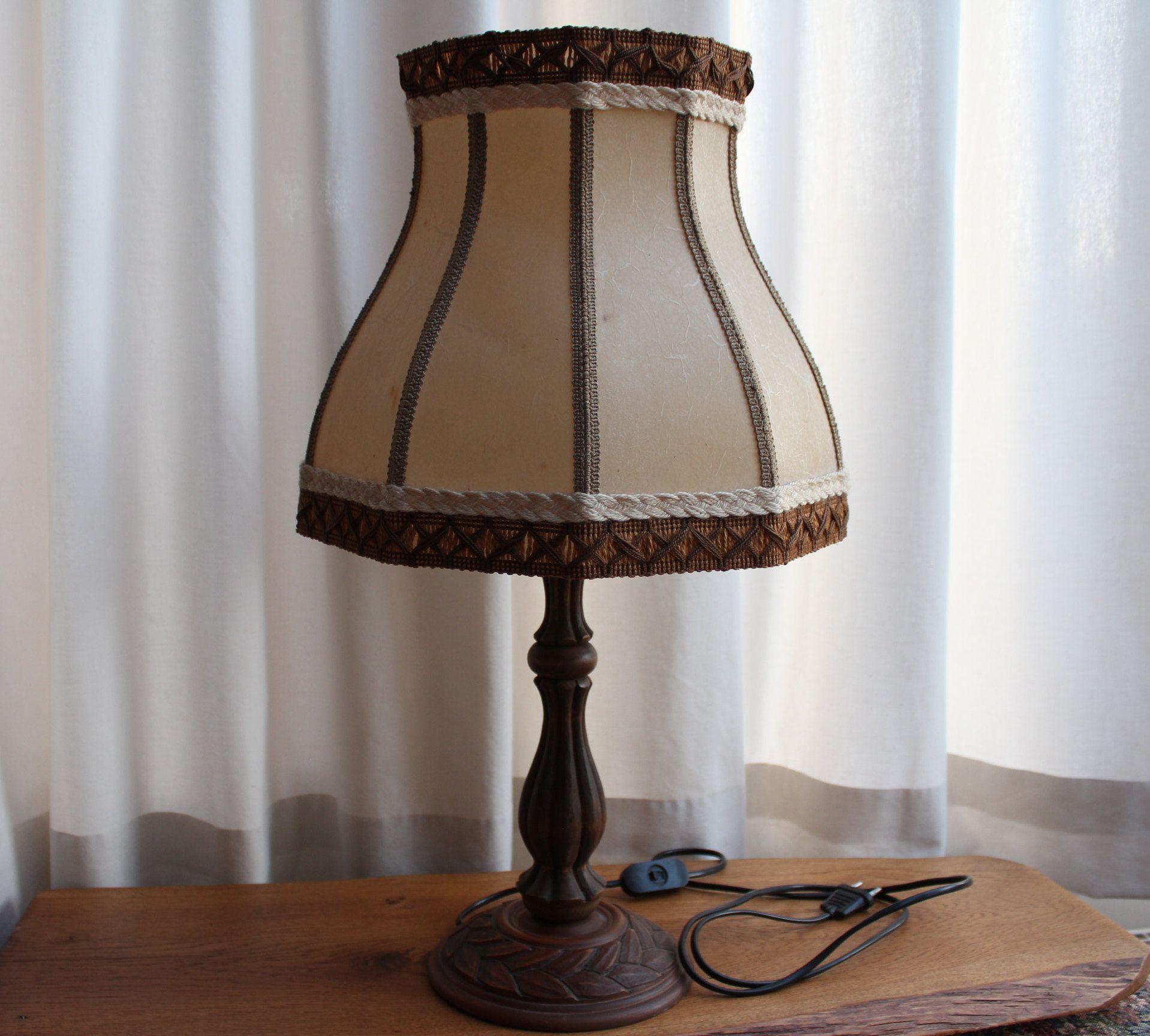 Stehlampe Schirm Vintage