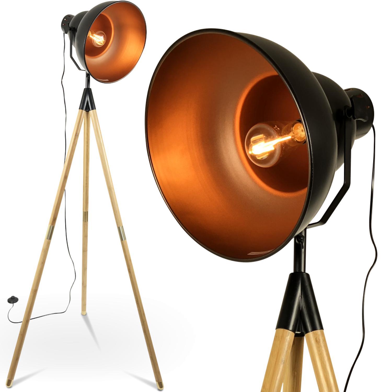 Stehlampe Vintage Kupfer