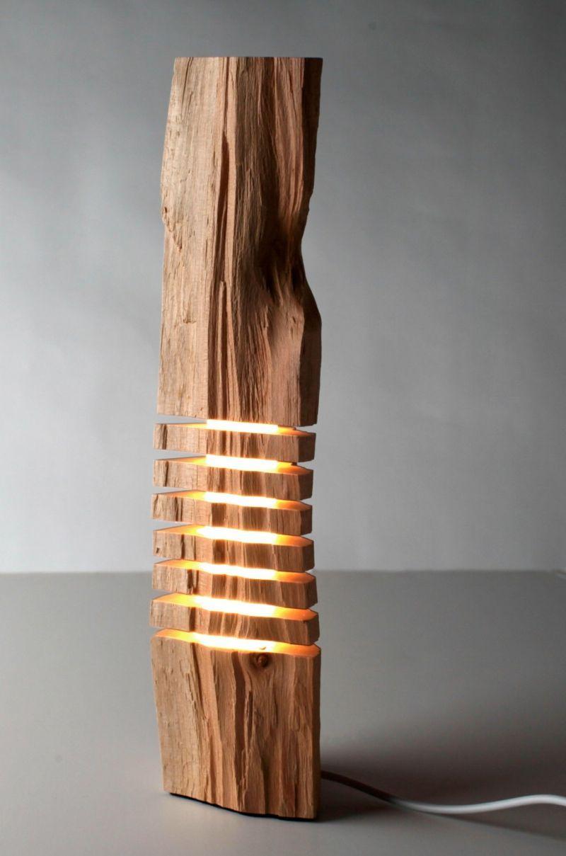 Stehlampen Aus Holz Selber Machen