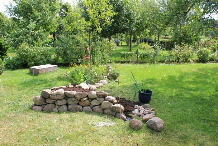Steingarten Anlegen Ideen Mit Feldsteinen