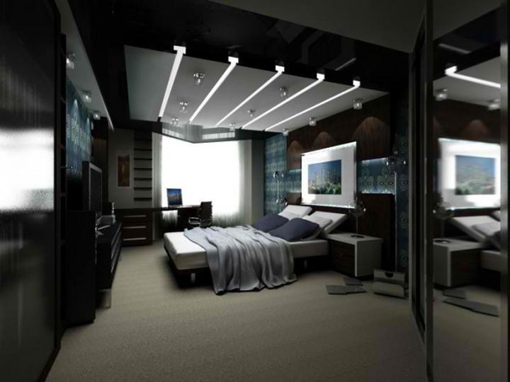 Stilvoll Männer Schlafzimmer