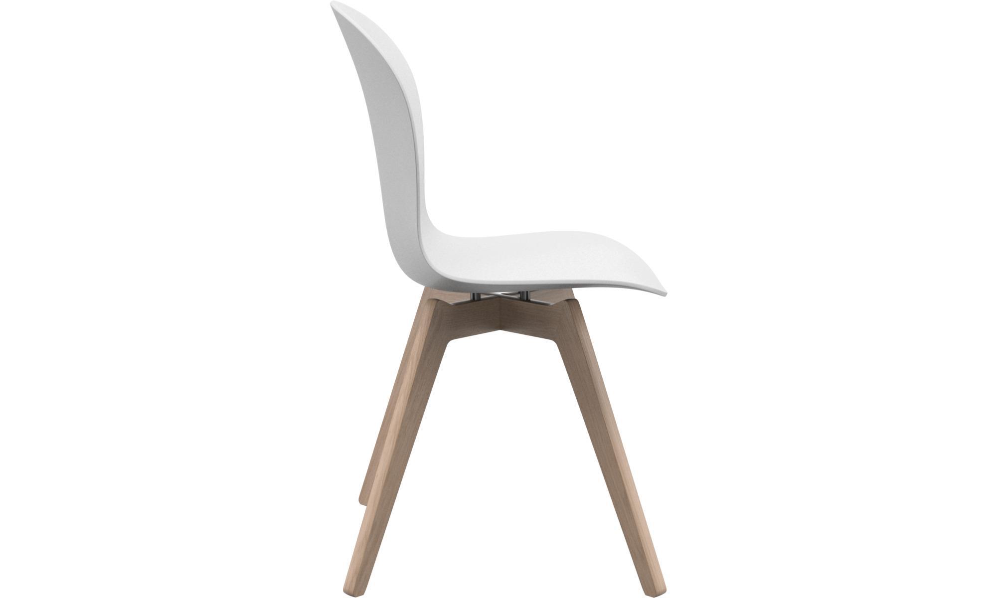 Stuhl Eiche Weiß