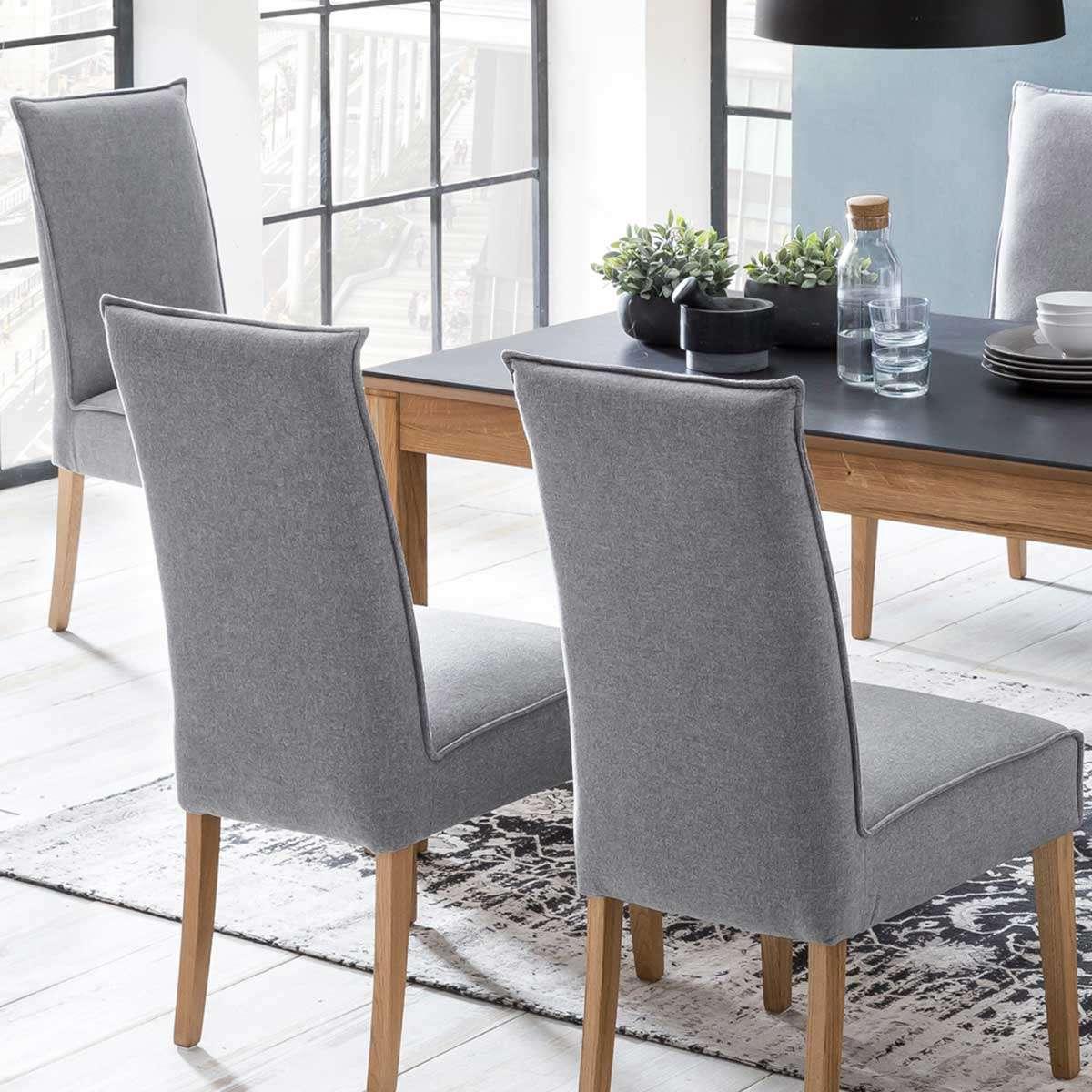 Stuhl Esstisch Grau