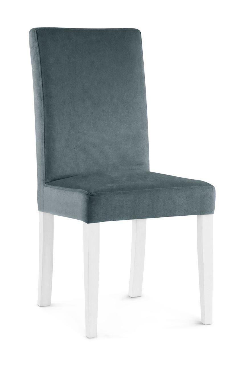 Stuhl Grau Weiß
