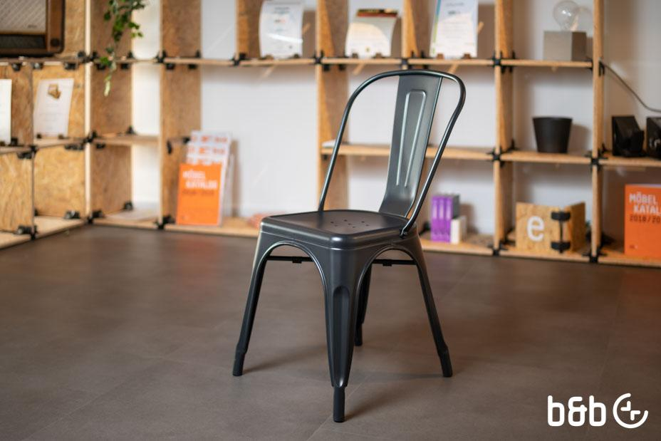 Stuhl Industrial Schwarz