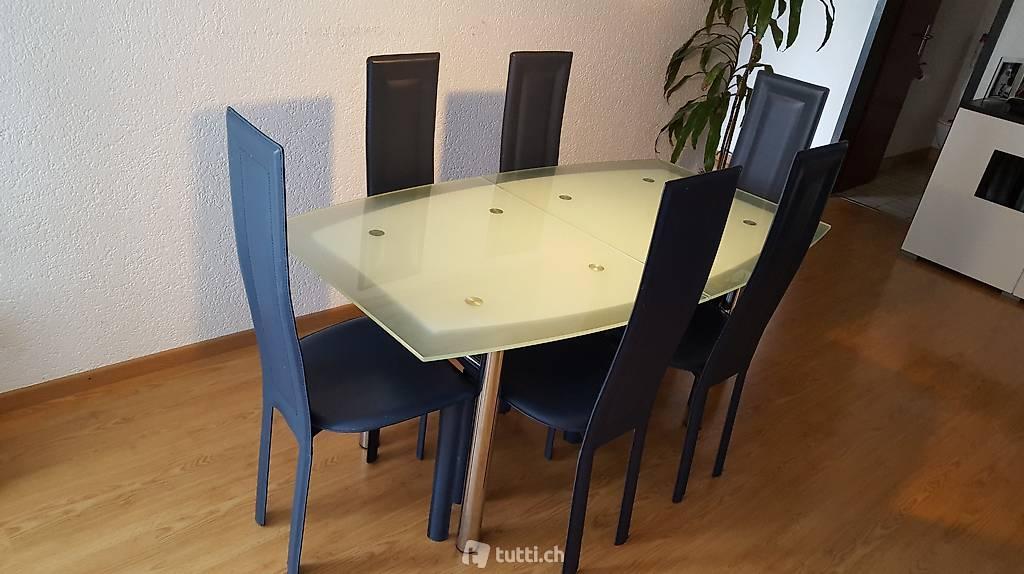 Stuhl Plastikschale Holzbeine