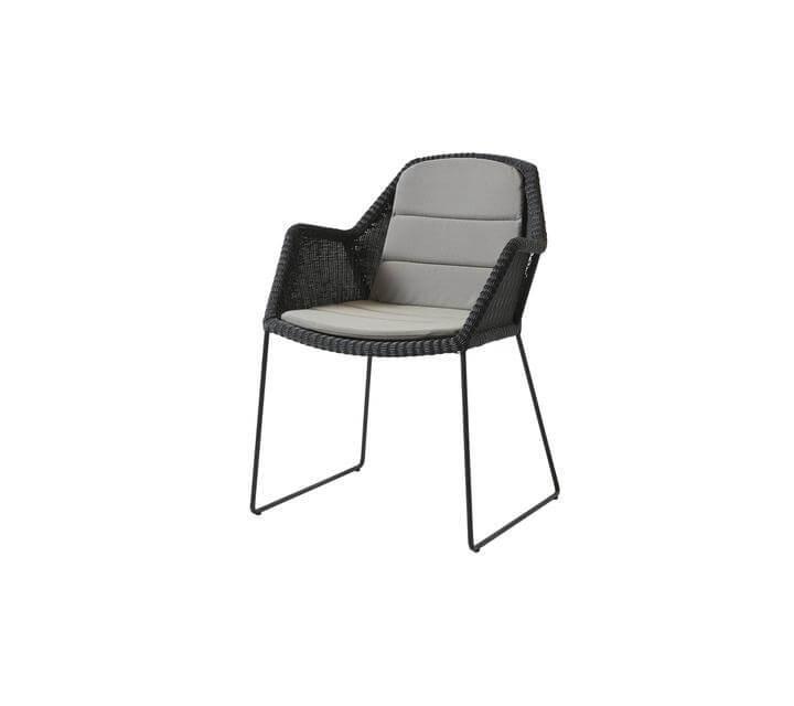 Stuhl Polster Grau