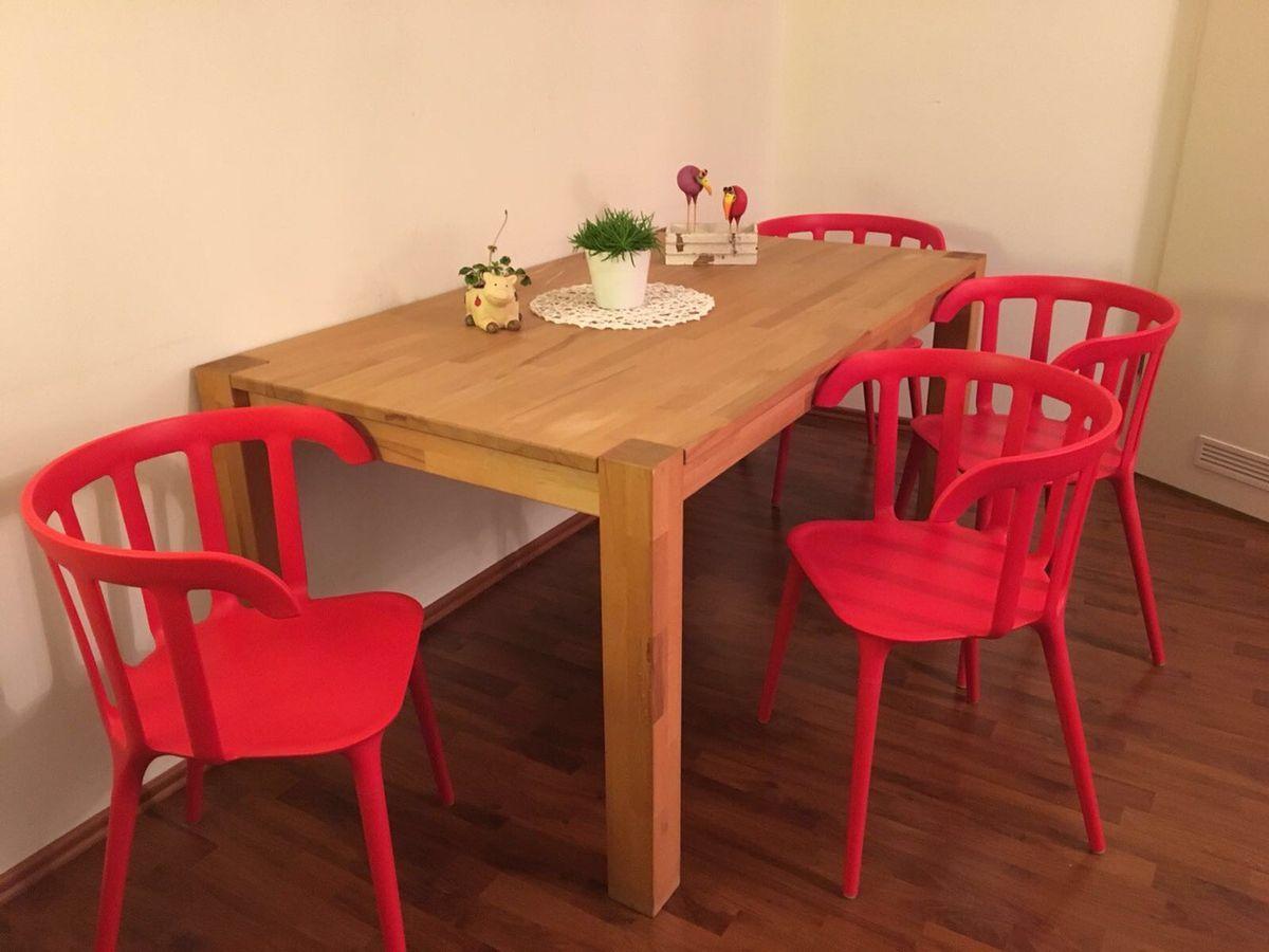 Stuhl Rot Ikea