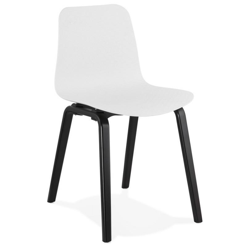 Stuhl Weiß Holz