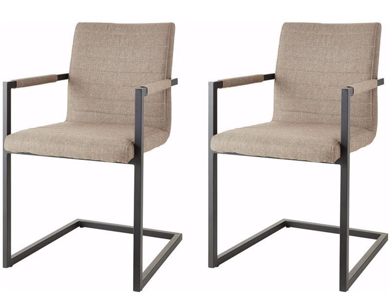 Stühle Anthrazit Stoff