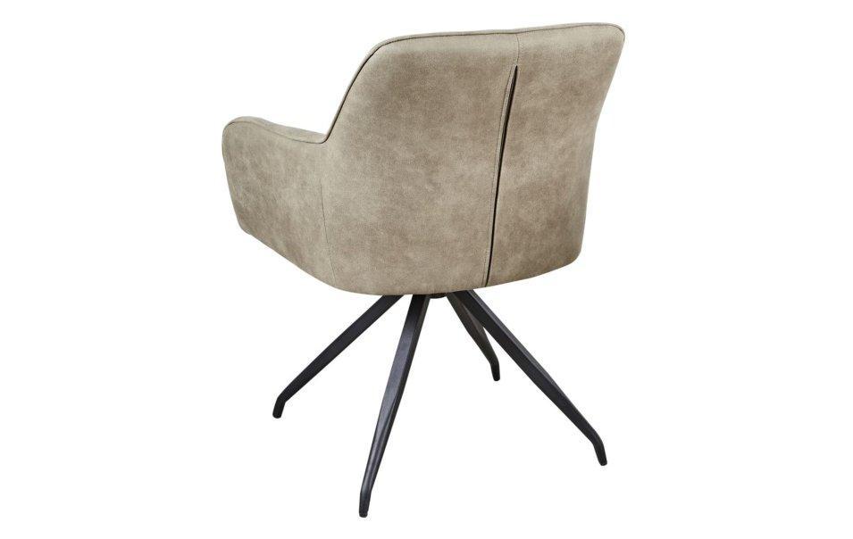 Stühle Beige Samt