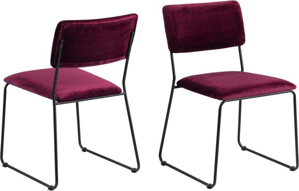 Stühle Bordeaux Rot