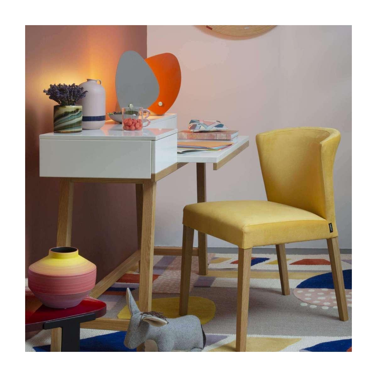 Stühle Gelb Samt