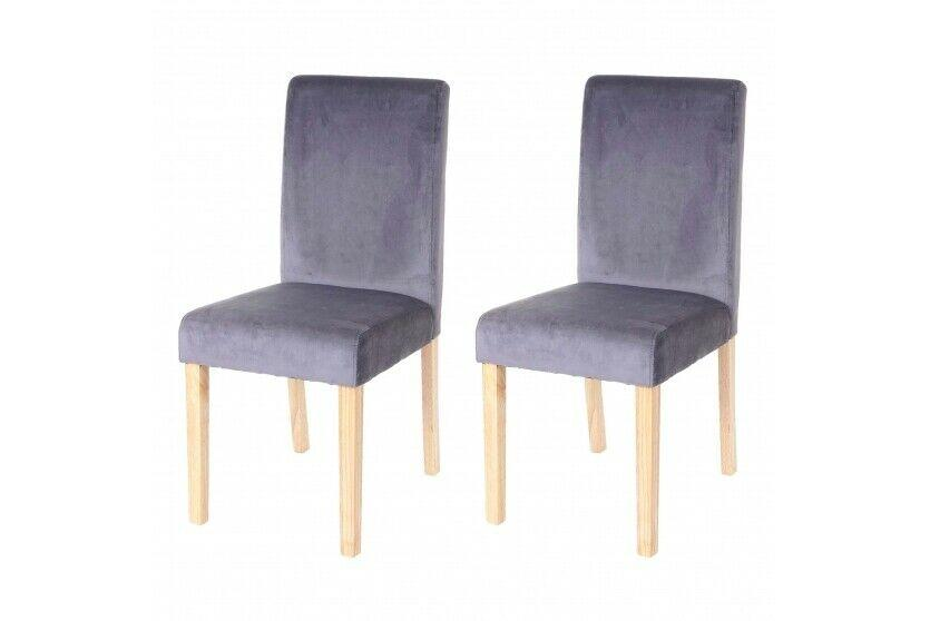 Stühle Grau Stoff