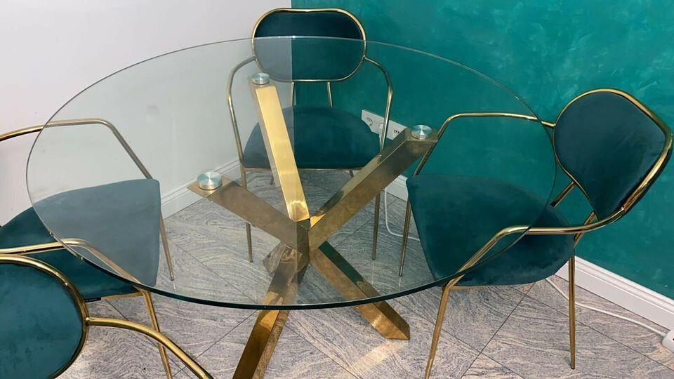 Stühle Grün Gold