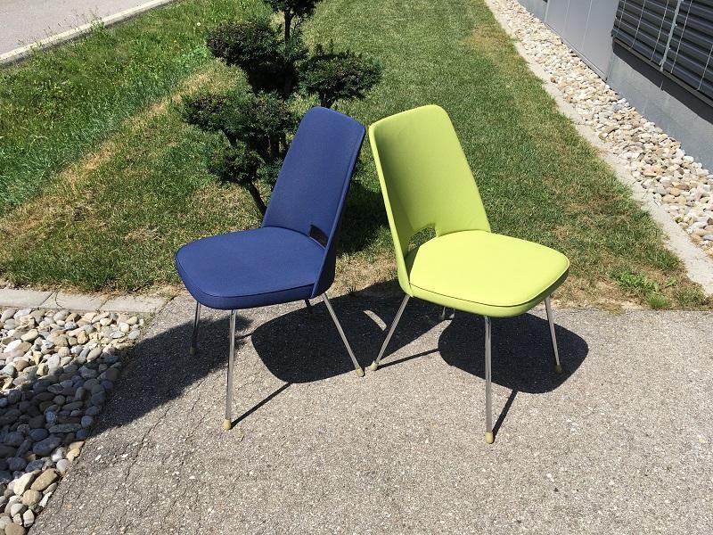 Stühle Grün Polster