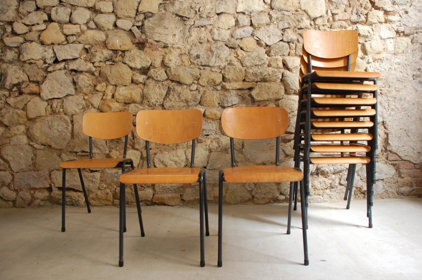 Stühle Holz Vintage