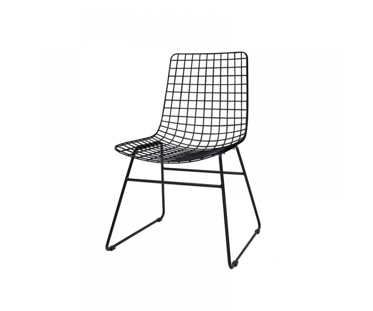 Stühle Metall Schwarz