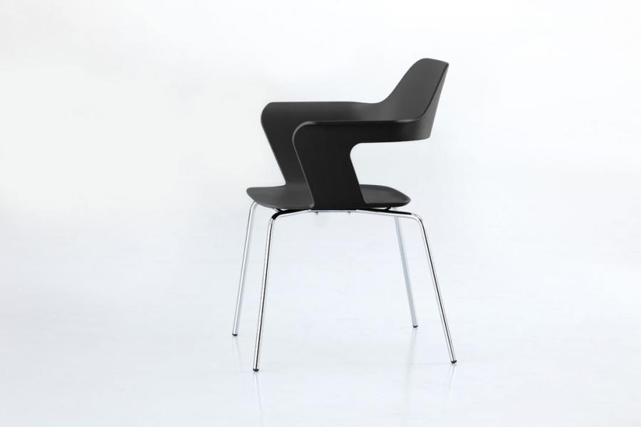 Stühle Mit Armlehne Schwarz
