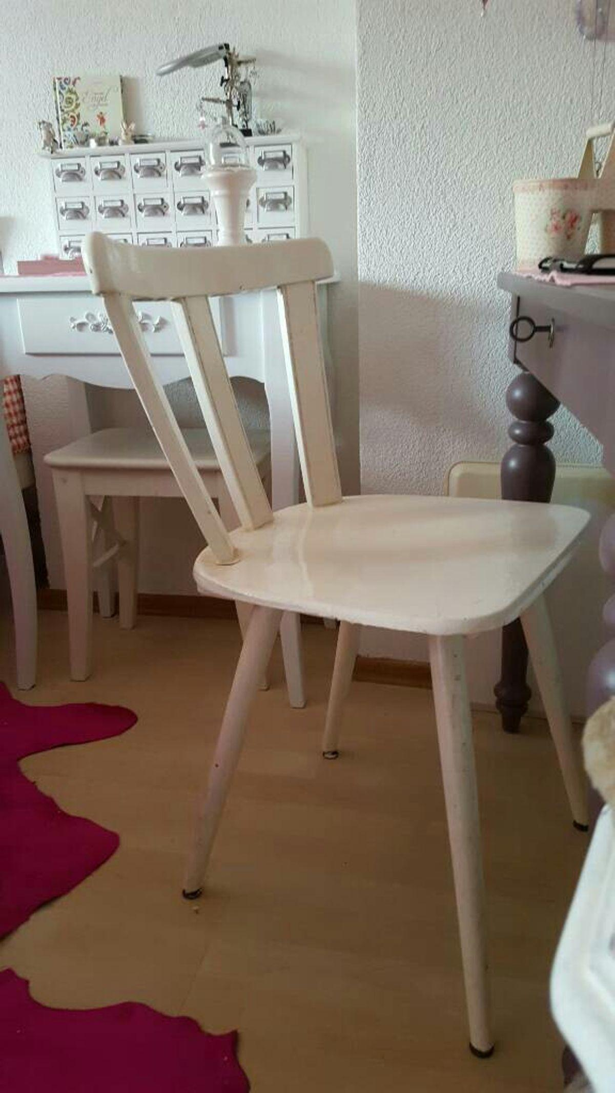 Stühle Vintage Weiß