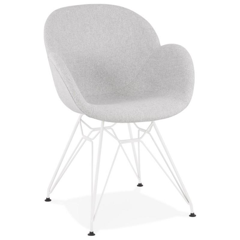 Stühle Weiß Grau
