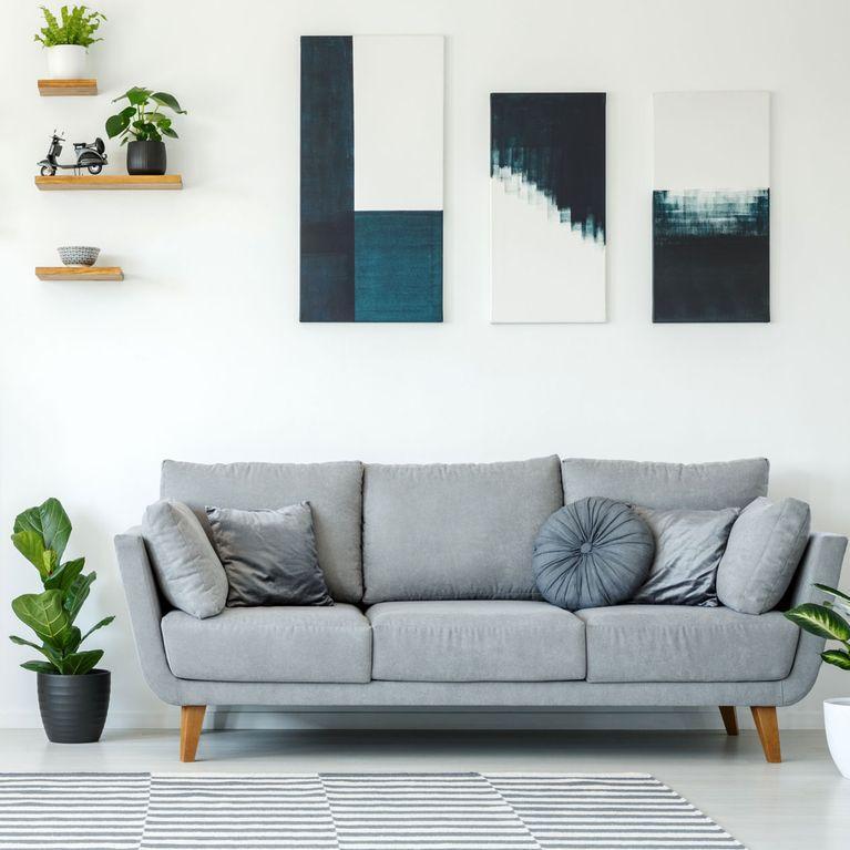 Stylische Bilder Wohnzimmer