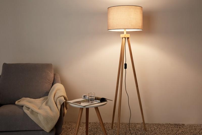 Stylische Stehlampen Wohnzimmer
