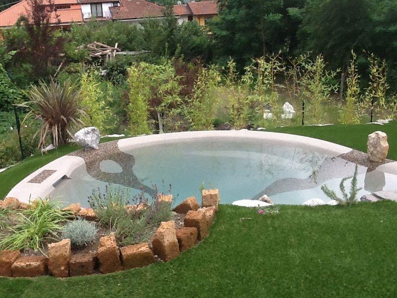 Swimming Pool Kleiner Garten
