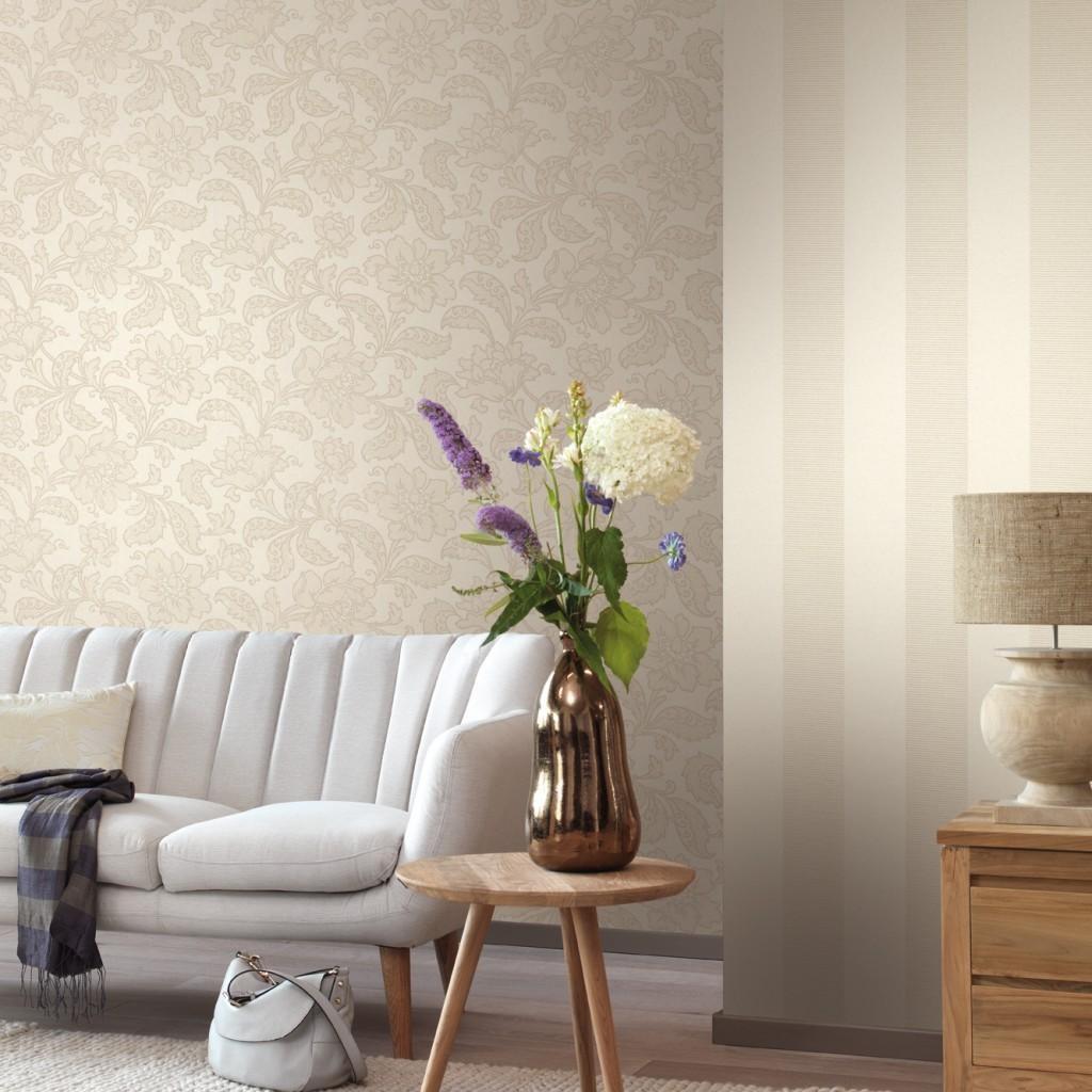 Tapete Wohnzimmer Elegant