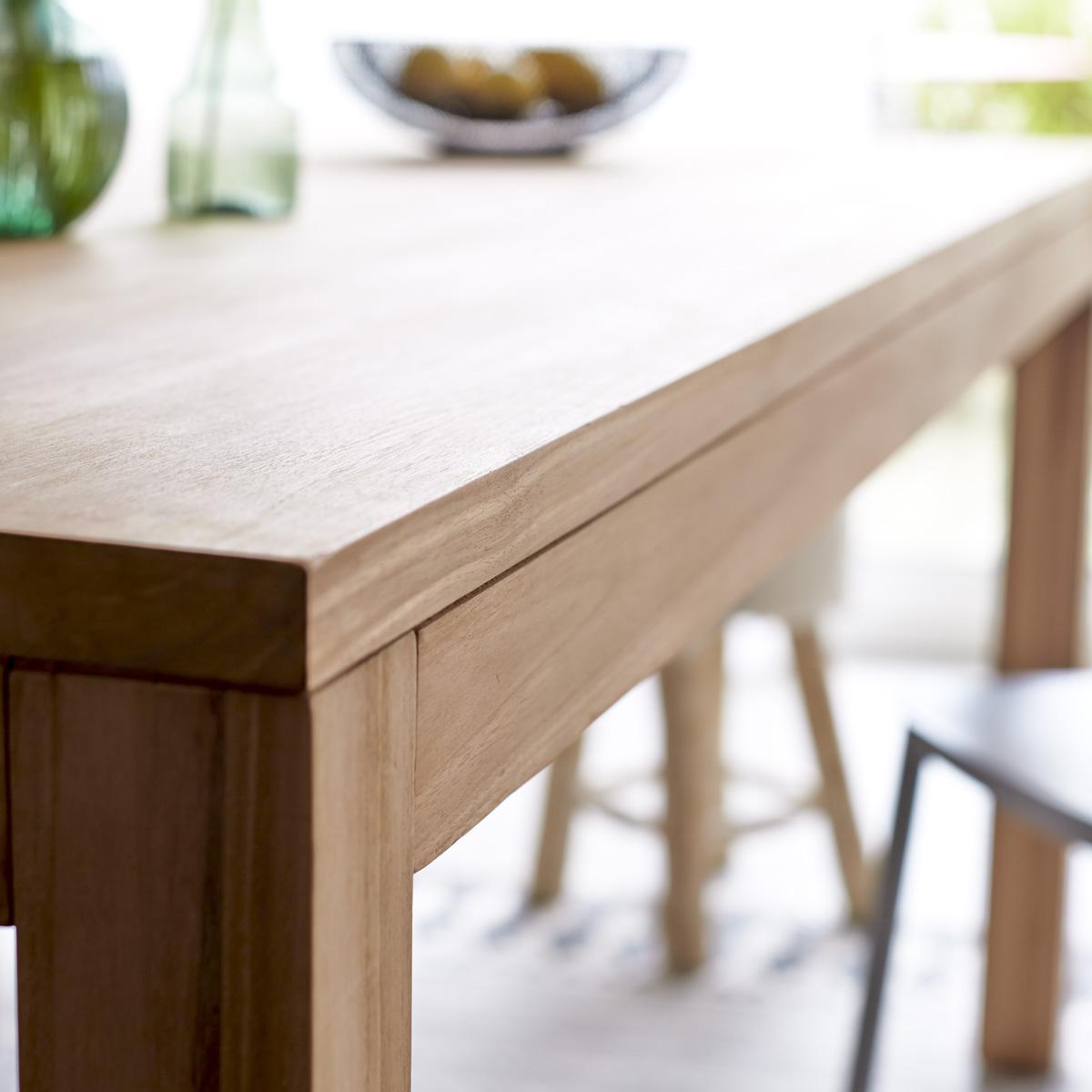 Teakholz Tisch Esszimmer