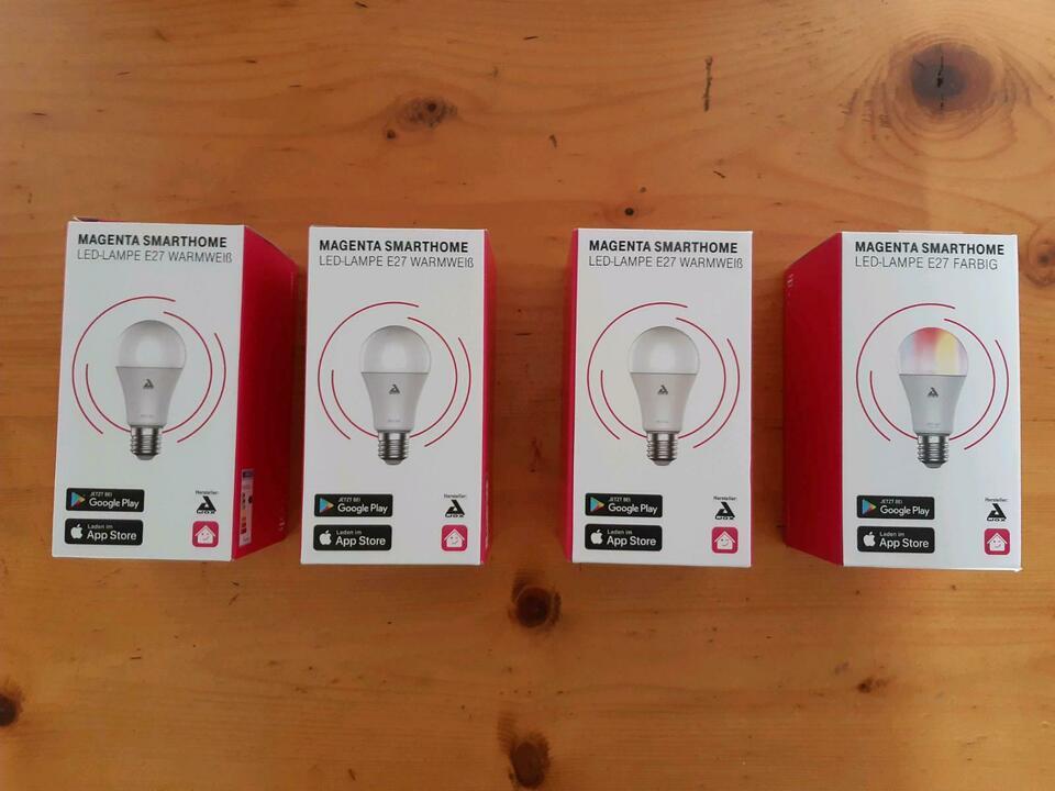 Telekom Smart Home Lampe