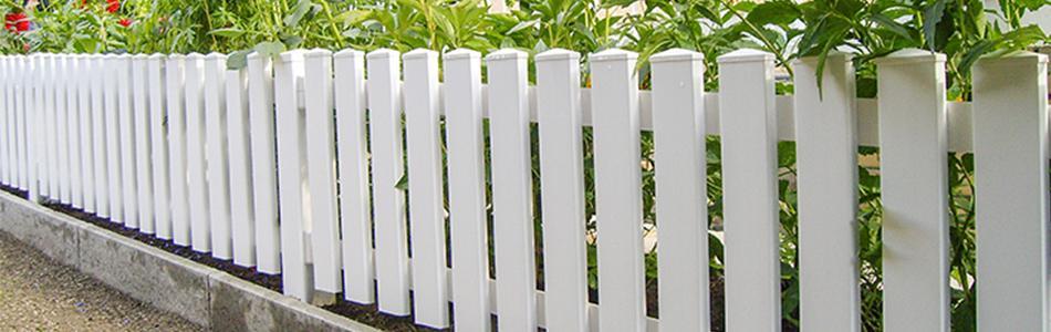 Terrasse Zaun Kunststoff