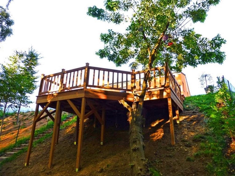 Terrassenbau Am Hang