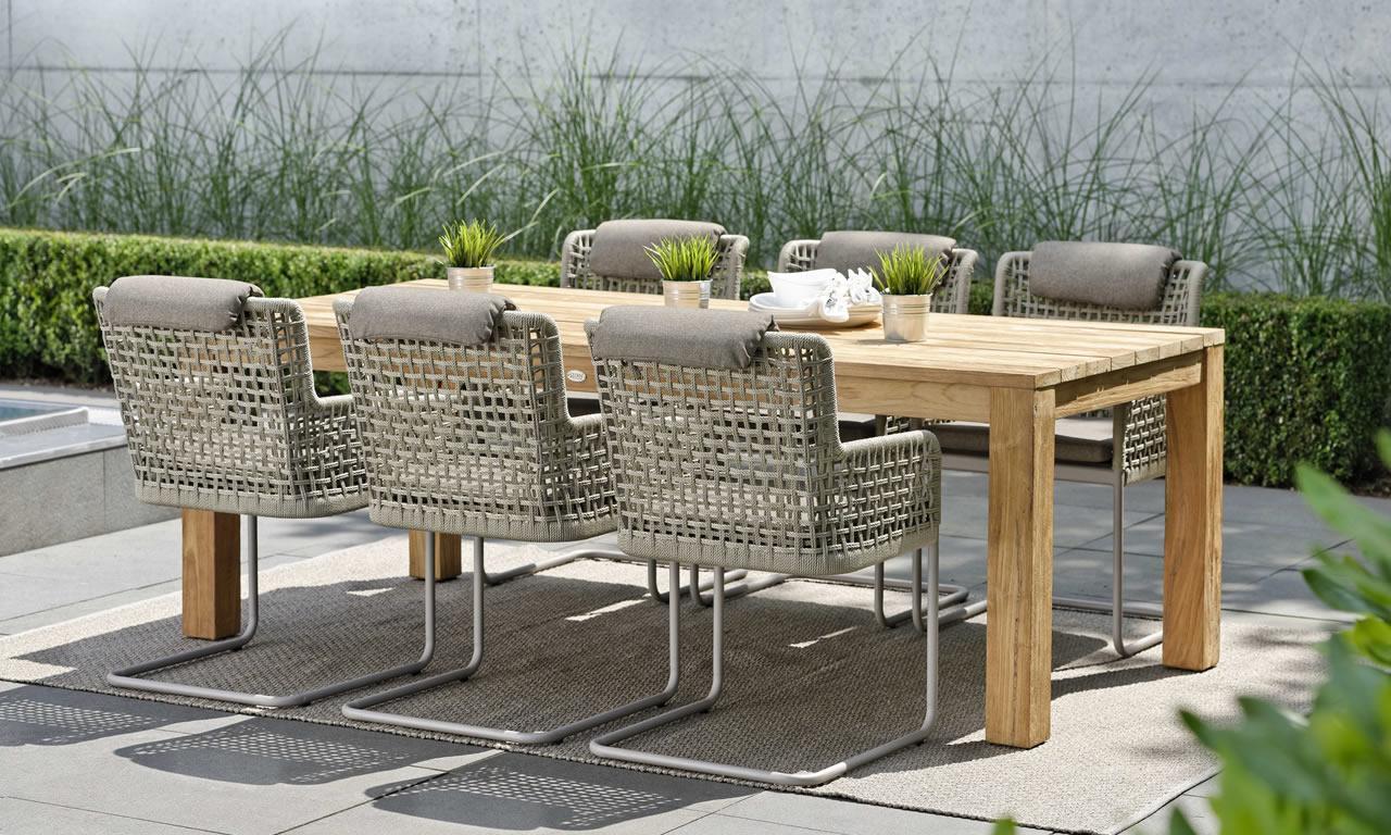 Terrassenmöbel Holz Metall