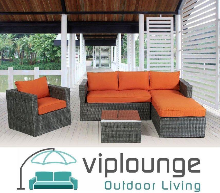 Terrassenmöbel Lounge Set