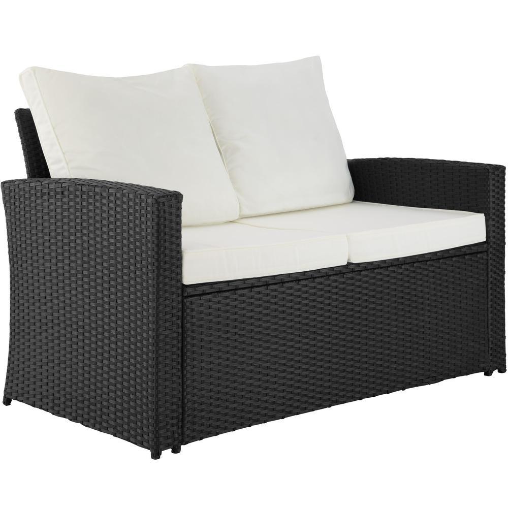 Terrassenmöbel Rattan Lounge