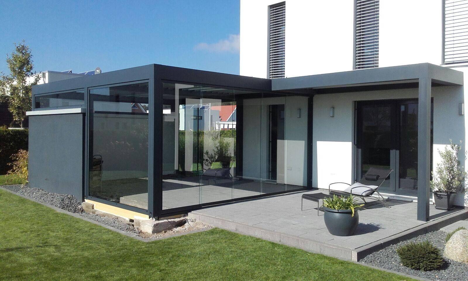 Terrassenüberdachung Modern Glas