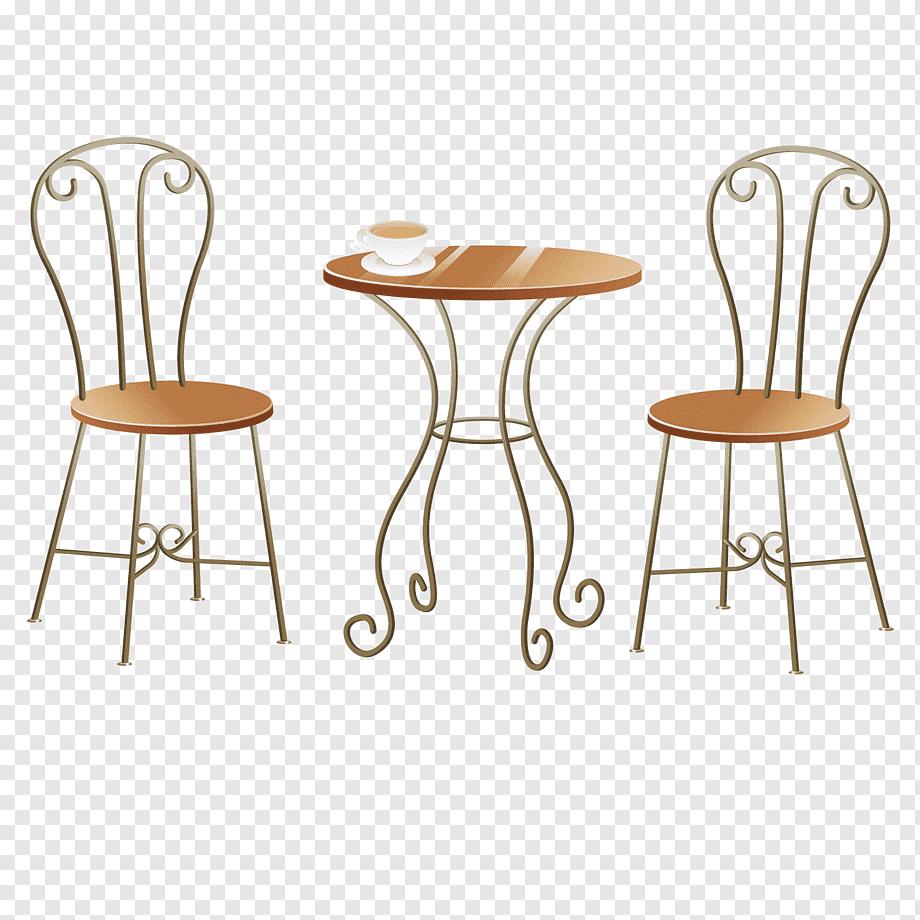 Tisch Und Stühle Zeichnen