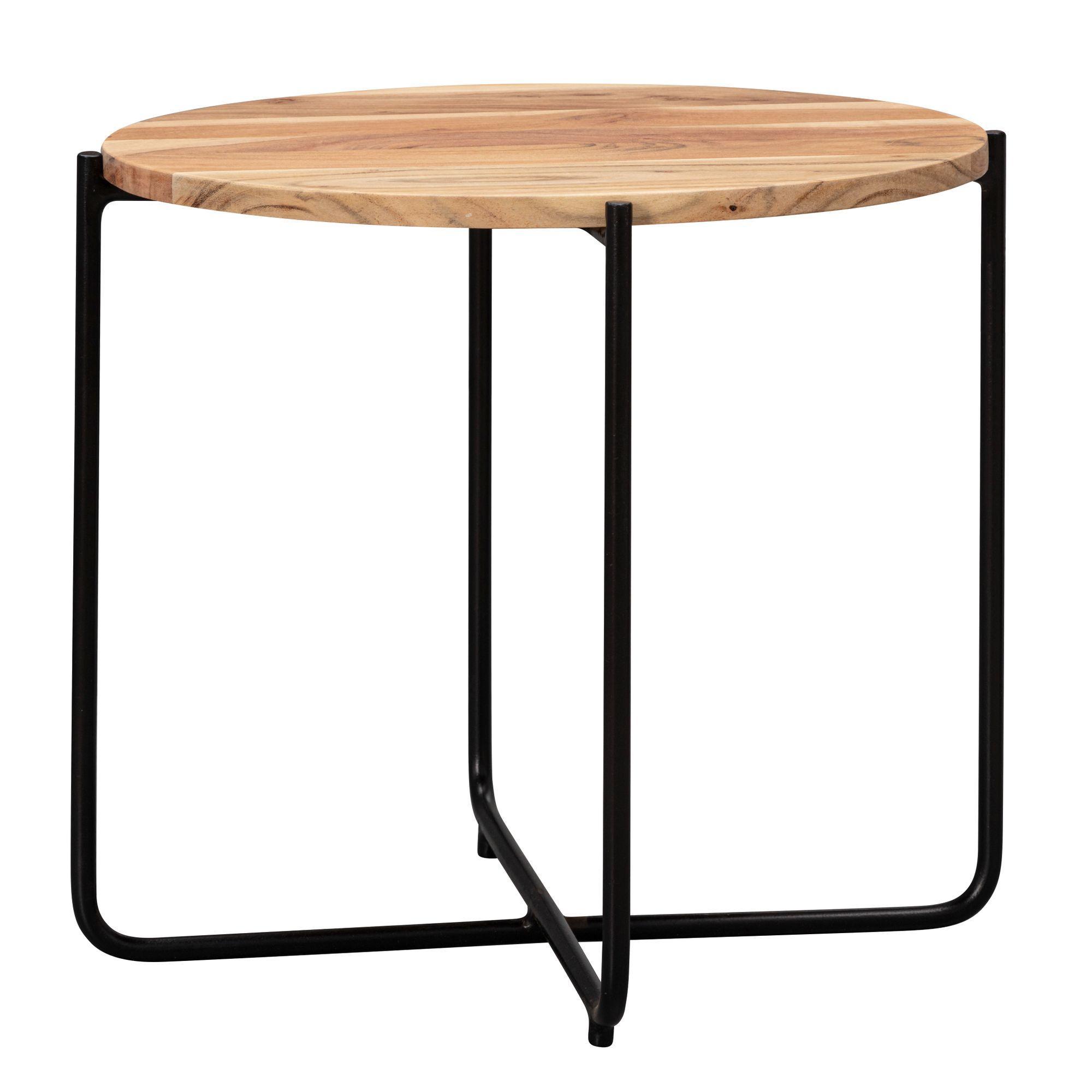 Tisch Wohnzimmer Holz Rund