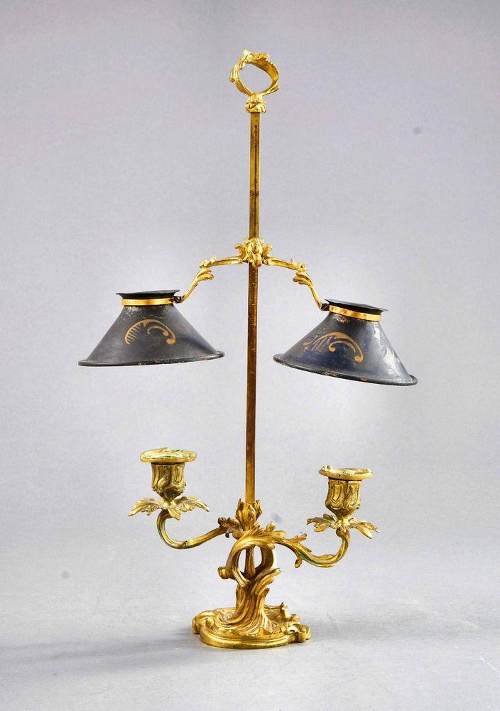Tischlampe Gold Barock