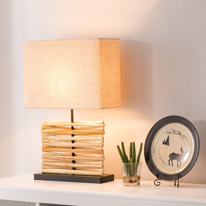 Tischlampe Led Holz