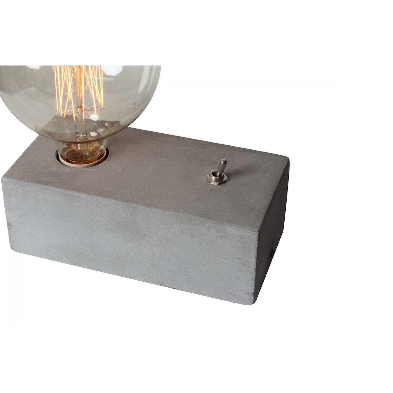 Tischlampe Mit Betonsockel