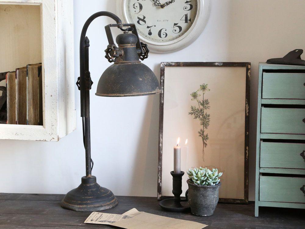 Tischlampe Vintage Landhaus