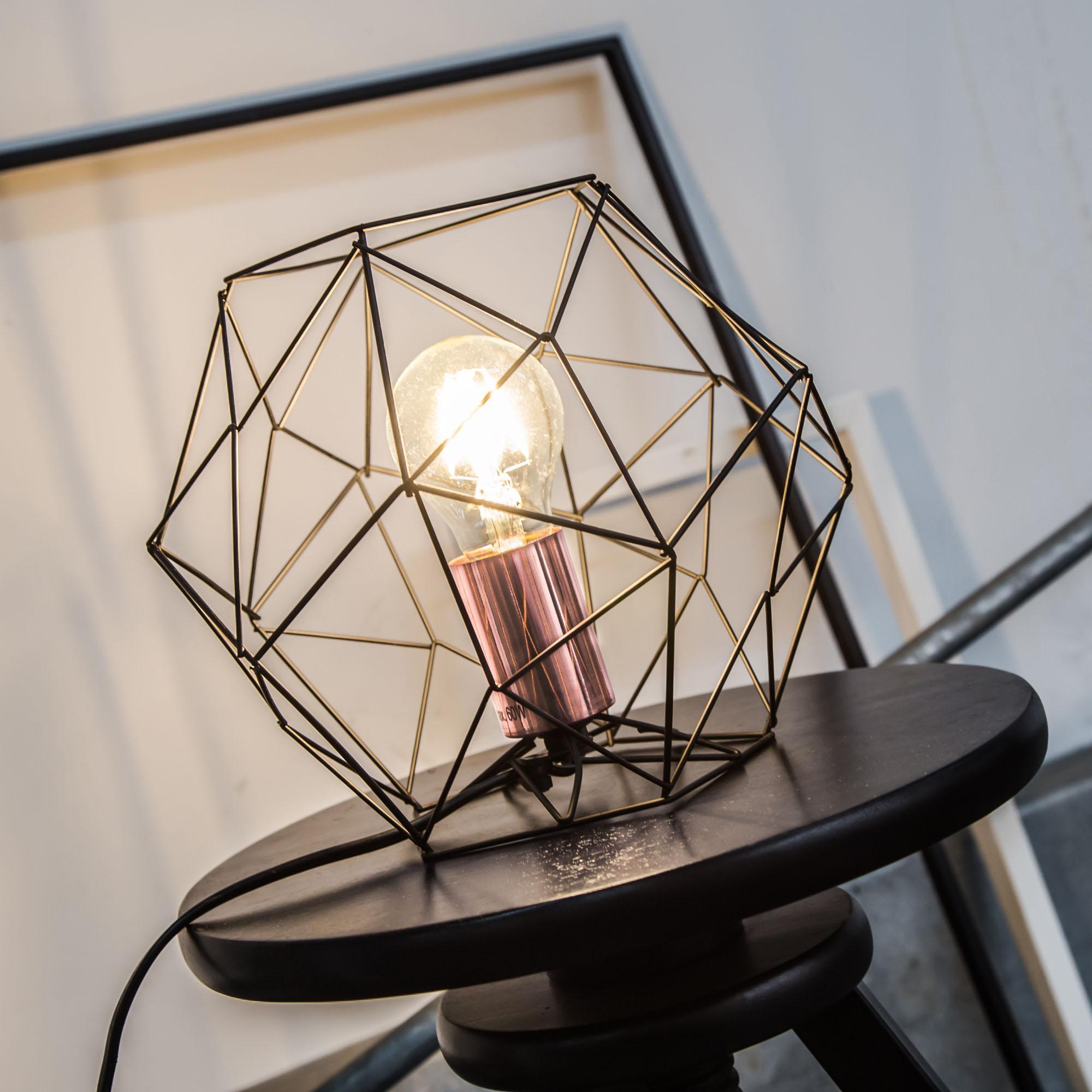 Tischlampe Vintage Metall