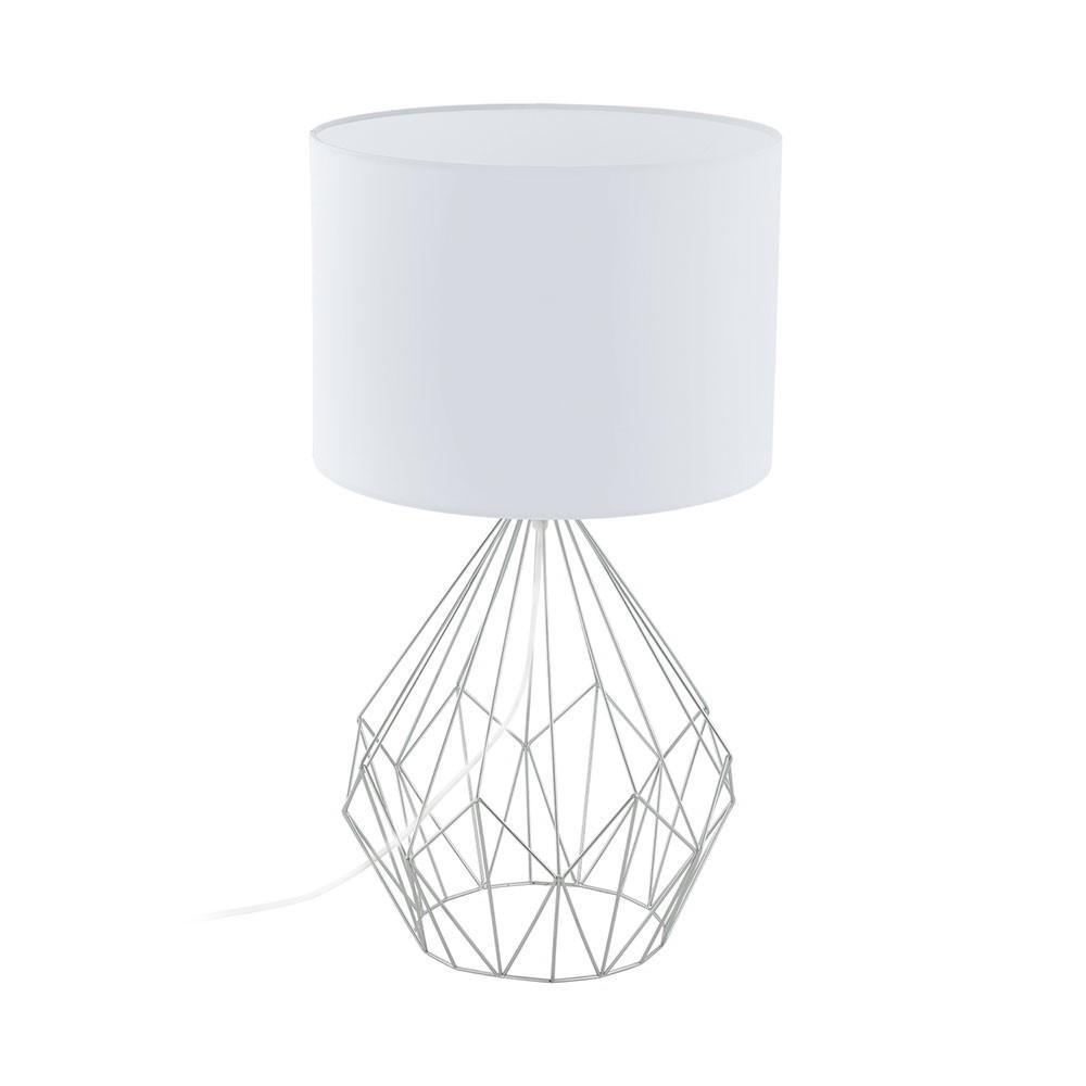 Tischlampe Vintage Weiß