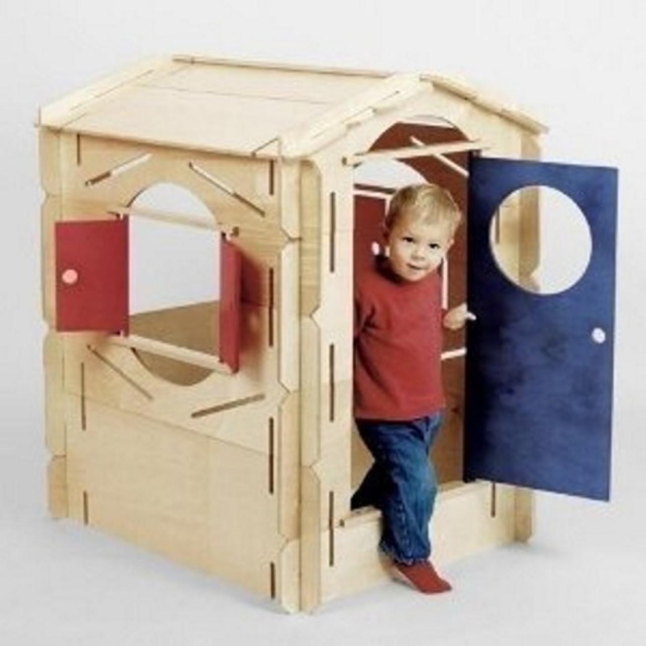 Tür Spielhaus Bauen