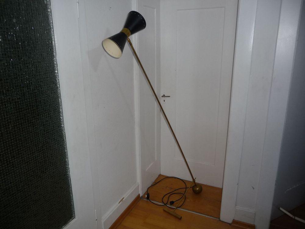 Tütenlampe 50er Jahre Stehlampe