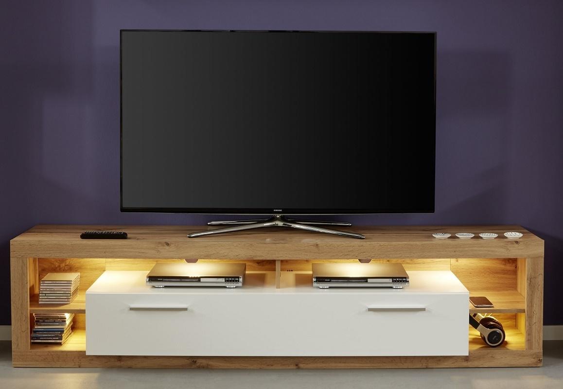 Tv Hängeschrank Weiß Hochglanz